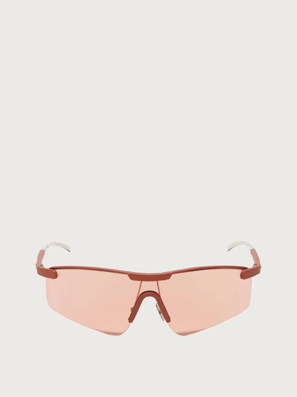 Salvatore Ferragamo Damen Sonnenbrille In Orange