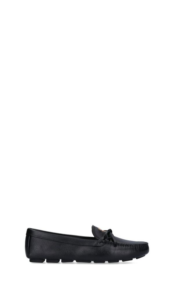 Prada Flat Shoes In Black