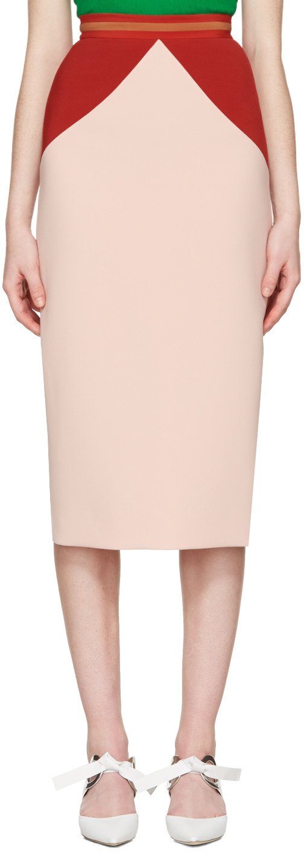 Roksanda Colour Block Skirt