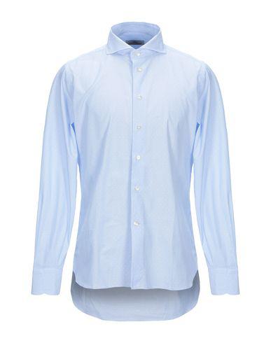 Brió Solid Color Shirt In Sky Blue