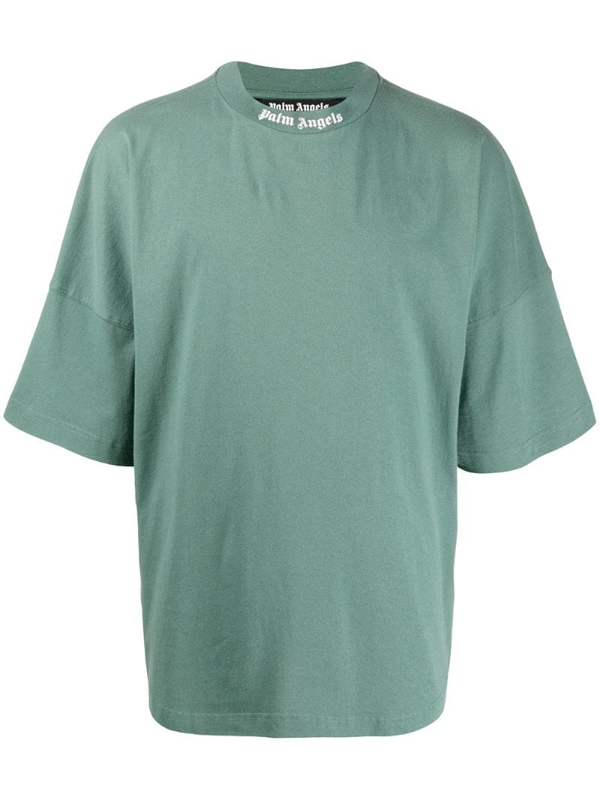 Palm Angels Oversized Pine Green T-shirt