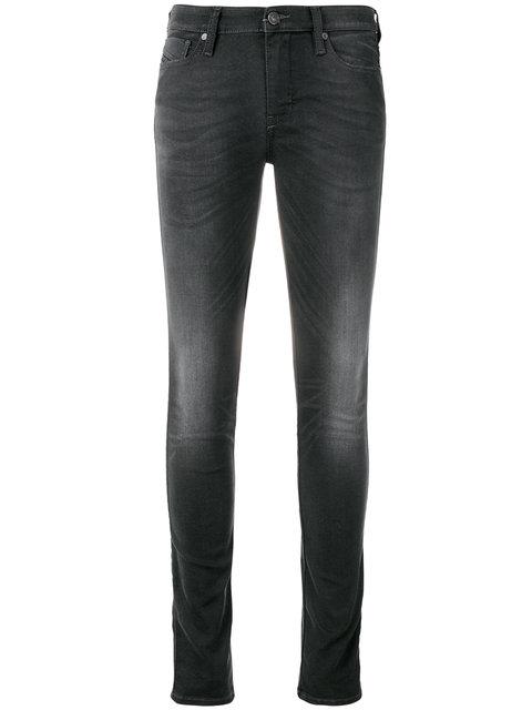 Diesel Skinny Jeans In Grey