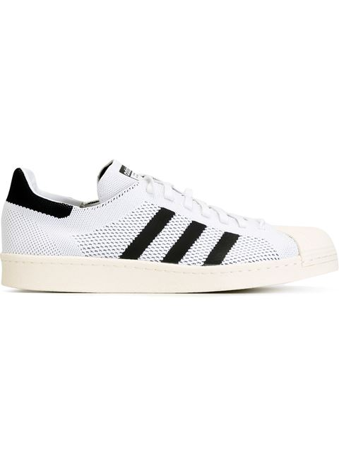 Superstar Boost Primeknit Sneakers In White Bb0190 White
