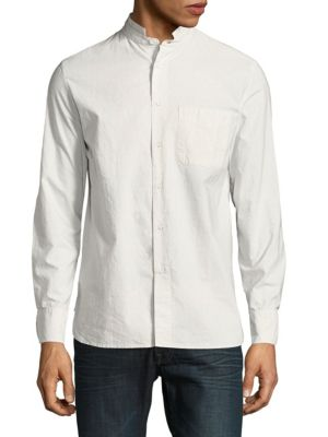 Rag & Bone Casual Cotton Button-down Shirt In White