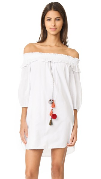 Misa Lexi Dress In White