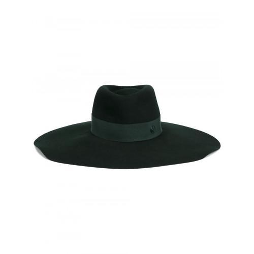 Maison Michel 'elodie' Hat In Green