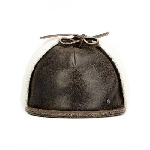 Maison Michel Leather Cap