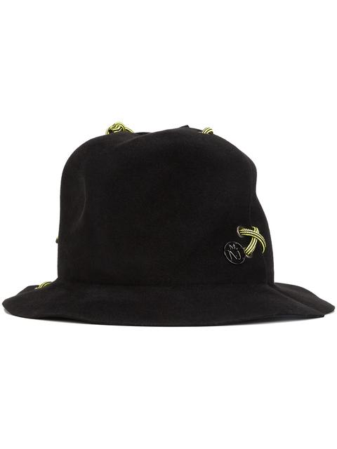 Maison Michel 'yoshika' Hat In Black