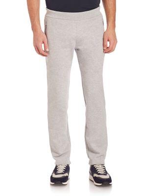 Z Zegna French Terry Sweatpants In Grey