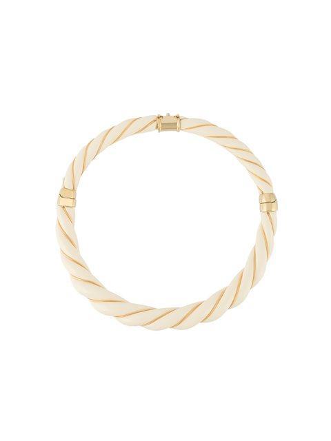 Aurelie Bidermann 'diana' Necklace In Neutrals