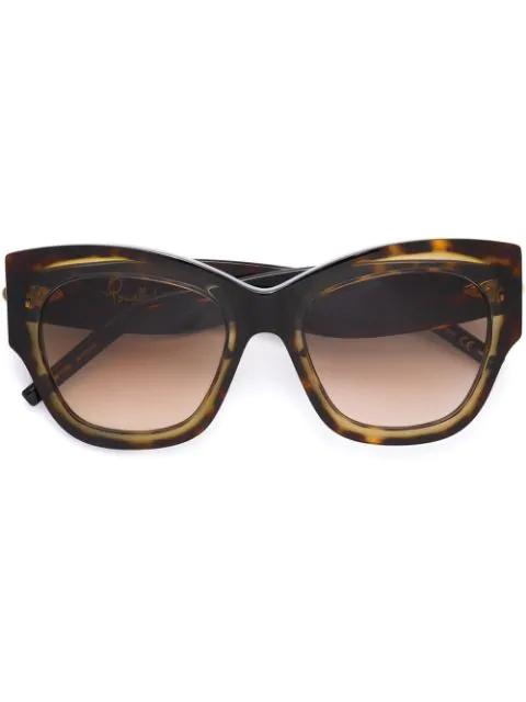 Pomellato Eyewear Round Frame Sunglasses - Neutrals