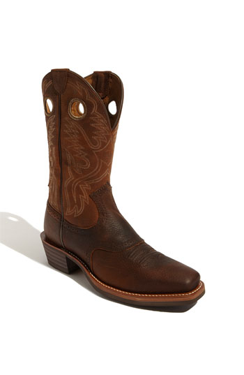 Ariat 'heritage Roughstock' Boot (online Only) (men) In Oiled Brown