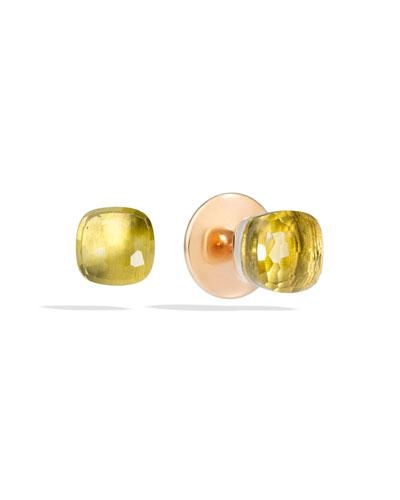 Pomellato Nudo Lemon Quartz Stud Earrings