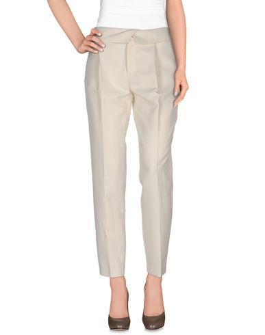 Paul & Joe Casual Pants In Ivory