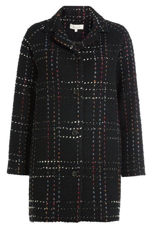 Paul & Joe Coat With Wool In Multicolored
