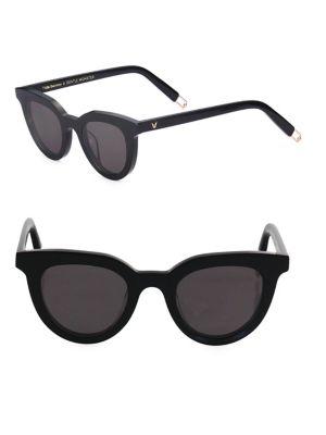 1c6314e67089 Gentle Monster Tilda Swinton X Eye Eye 45Mm Subtle Cat Eye Sunglasses In  Black