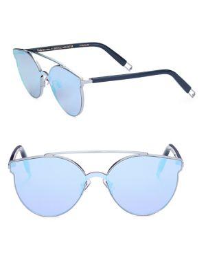 Gentle Monster Tilda Swinton X  Trick Of The Light 61mm Mirrored Sunglasses In Na