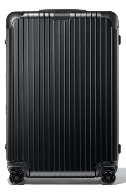 Rimowa Essential Check-in L Suitcase In Black - Polycarbonate - 30,6x20,5x11,1