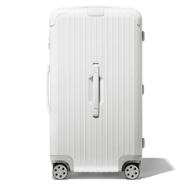 Rimowa Essential Trunk Plus Large Suitcase In White - Polycarbonate - 31,5x17x14,8