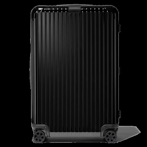 Rimowa Essential Essential Check-in L Suitcase In Black - Polycarbonate - 30,6x20,5x11,1