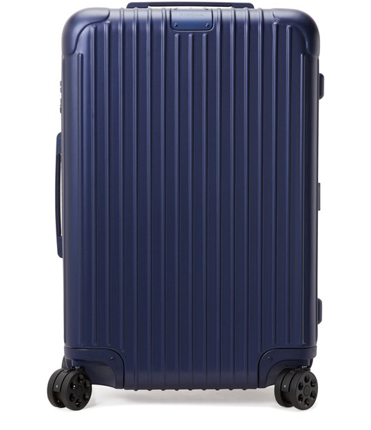 Rimowa Essential Medium 26-inch Wheeled Suitcase In Matte Blue