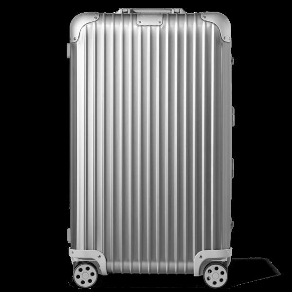 Rimowa Original Trunk Large Suitcase In Silver - Aluminium - 28,8x17x14,8