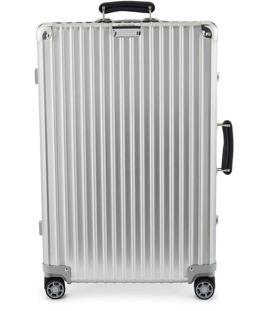 Rimowa Classic Classic Check-in L Suitcase In Silver - Aluminium - 30,8x20,5x10,7