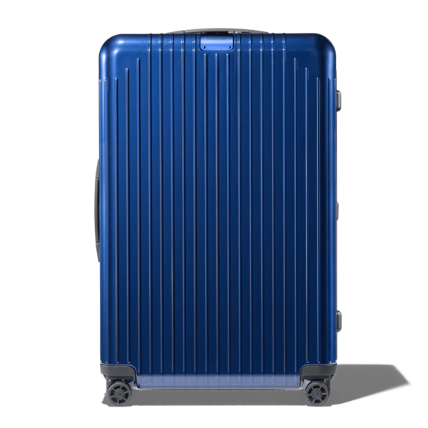 Rimowa Essential Lite Check-in L Suitcase In Blue - Polycarbonate - 30,8x20,5x10,7