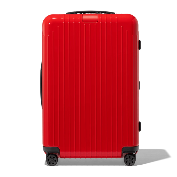Rimowa Essential Lite Check-in M Suitcase In Red - Polycarbonate - 26,4x17,8x9,9