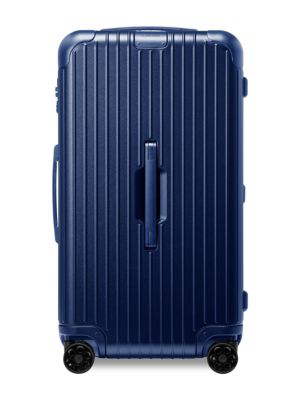Rimowa Essential Trunk Large Suitcase In Matte Blue - Polycarbonate - 28,8x17x14,8