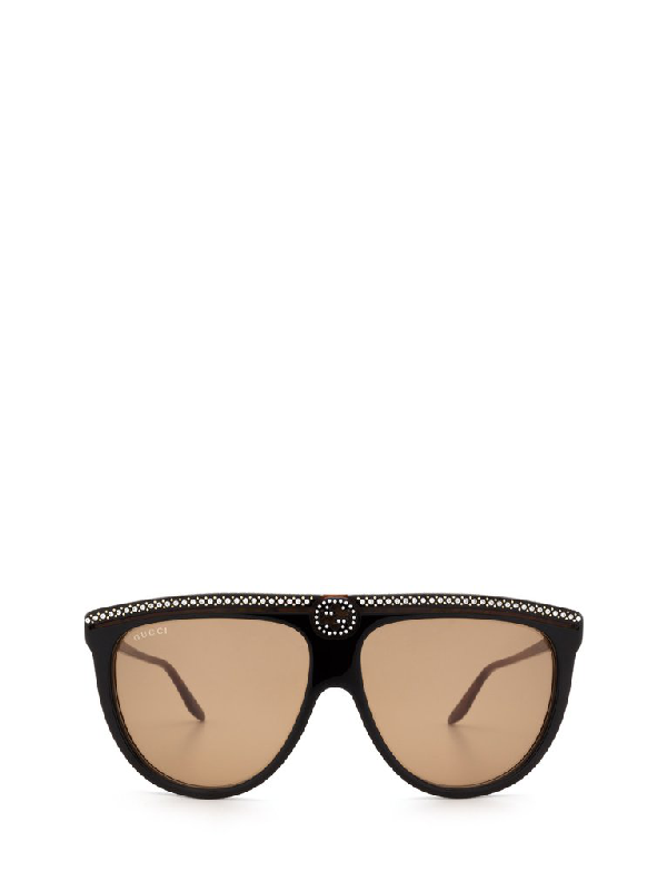 Gucci Eyewear Flat In Multi
