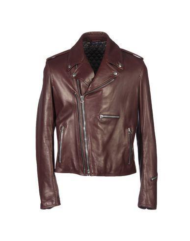 Lanvin Jackets In Maroon