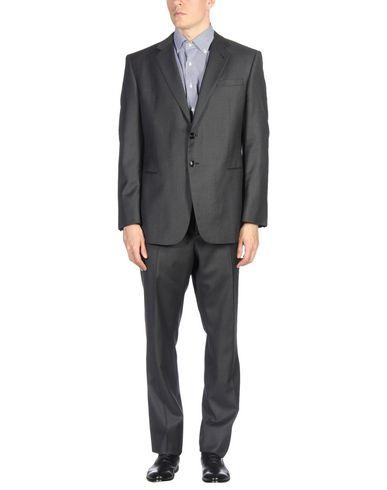 Giorgio Armani Suits In Steel Grey