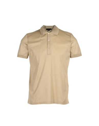 Burberry Polo Shirt In Sand
