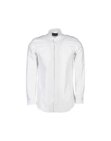 Emporio Armani Patterned Shirt In White