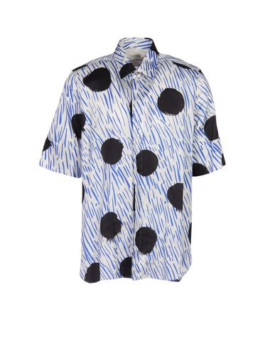Paul Smith Patterned Shirt In White