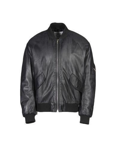 Mcq By Alexander Mcqueen Leather Jacket In Black
