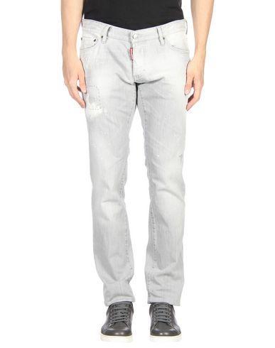 Dsquared2 Denim Pants In Grey