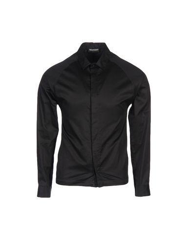 Emporio Armani Shirts In Black