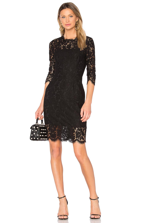 Rachel Zoe Kyle Dress In Black
