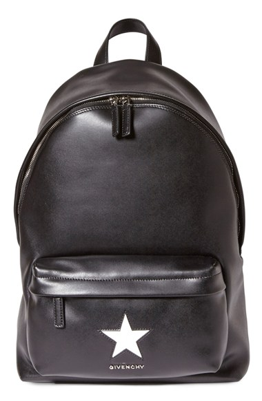 c802d93fd0 Givenchy Small Smooth Leather Backpack With Star