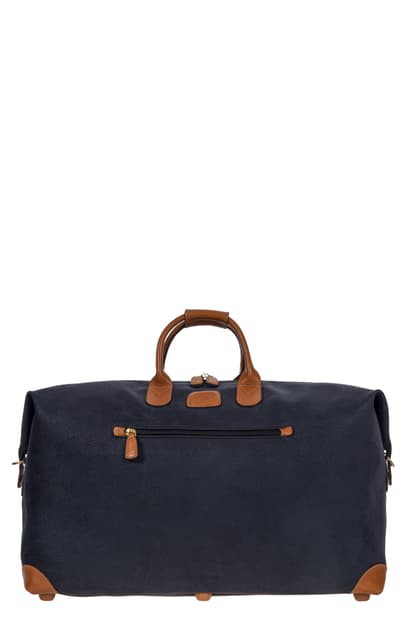 Bric's Life Collection 22-inch Duffel Bag In Blue 2016