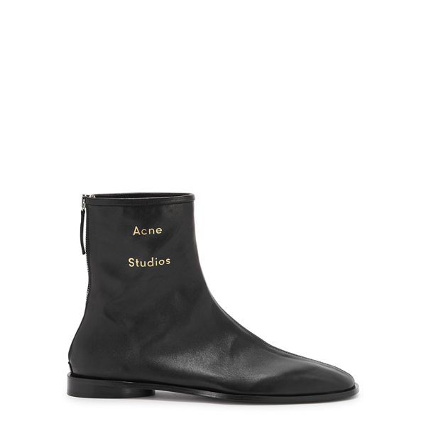 Acne Studios Fn-wn Ankle Boots Ad0098-ax0 In Black