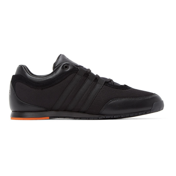 Y-3 Boxing Sneakers In Blk/org