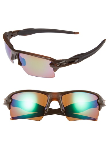 Oakley Polarized Flak 2.0 Xl Prizm Shallow Water Sunglasses, Oo9188 In Brown