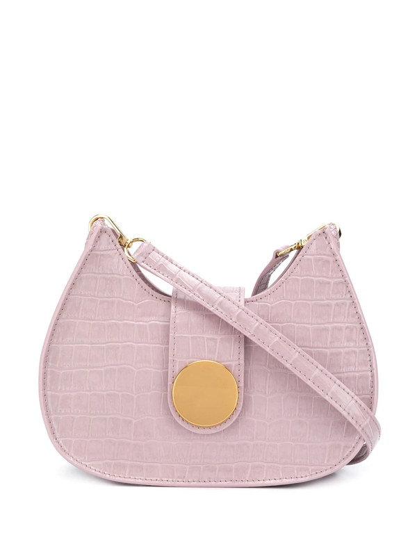 Elleme New Tambour Corc-embossed Bag In Pink