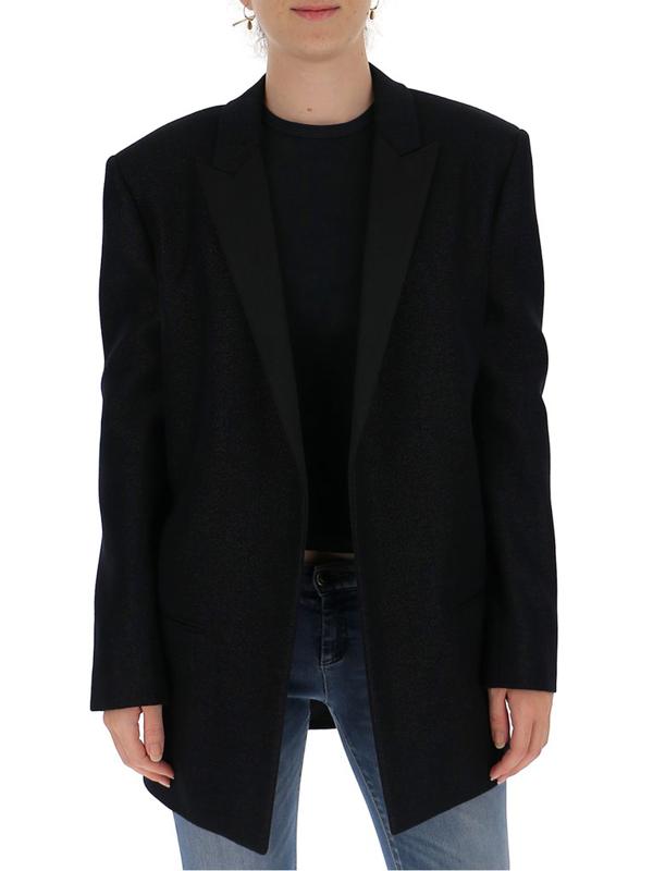 Saint Laurent Tuxedo Jacket In Black