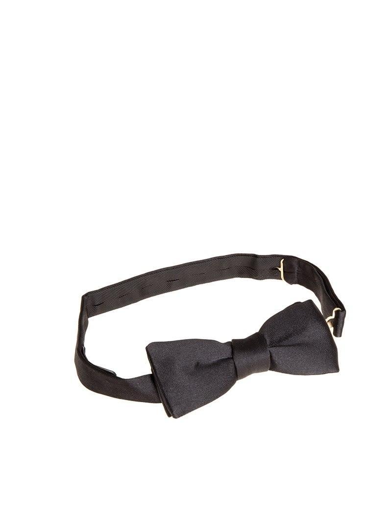 Ermenegildo Zegna Bow Tie In Black