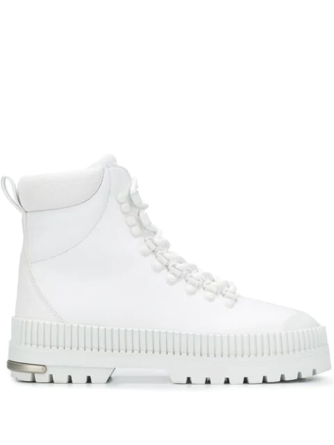 Fenty Hitch Hiker Boots In White