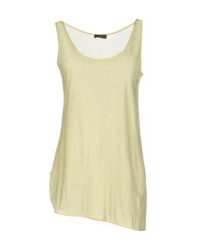 Fred Perry Tank Top In Light Yellow